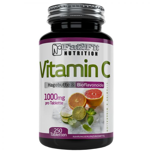 Vitamin C je 1000mg + Hagebutte 400mg