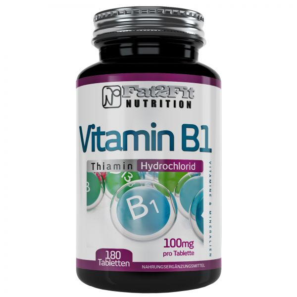 Vitamin B1 Tabletten je 100mg