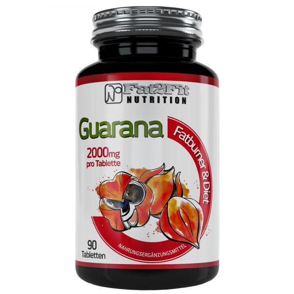 Guarana Tabletten je 2000mg - HOCHDOSIERT