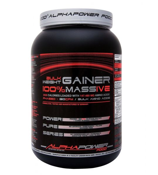 Bulk Weight Gainer 100% Massive Shake 2000g