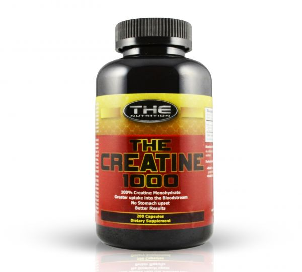 THE Creatine 200 Kapseln je 750mg - Creatin - Kreatin