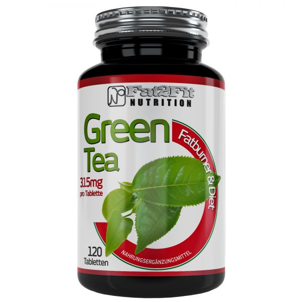 Grüner Tee Tabletten je 315mg - Green Tea