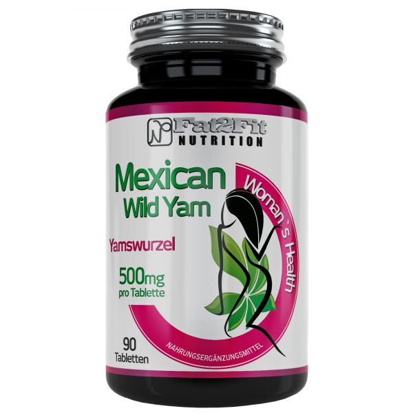 Mexican Wild Yam Tabletten je 500mg