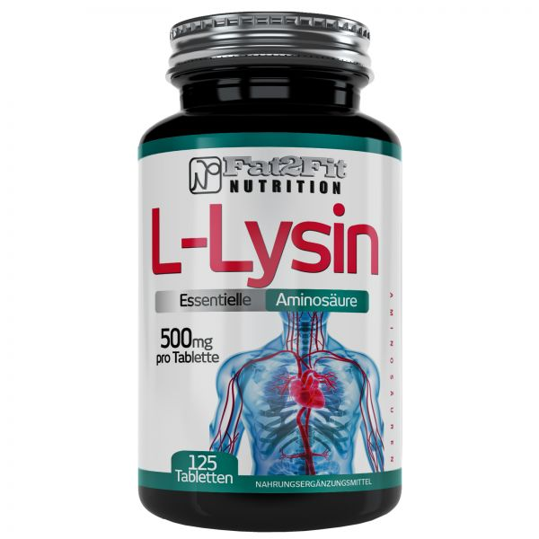 L-Lysin Tabletten je 500mg