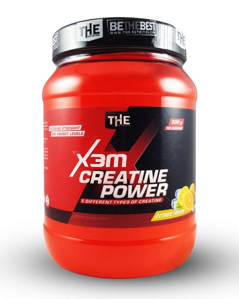 X3M Creatin Power - 500g - Citrus Fresh