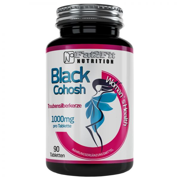 Traubensilberkerze Tabletten je 1000mg - Black Cohosh